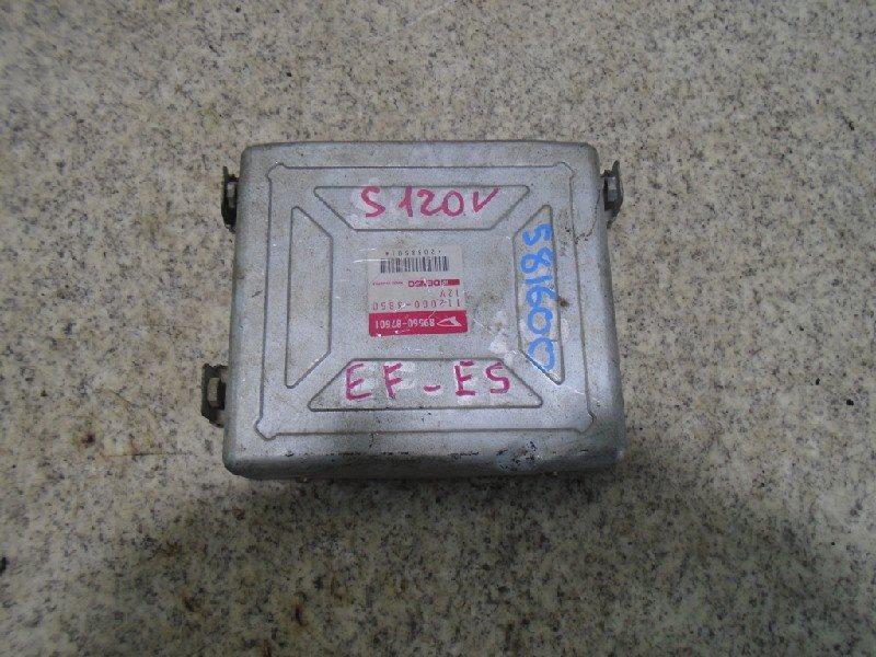 Блок управления efi Daihatsu Atrai S120V EF-ES #581600