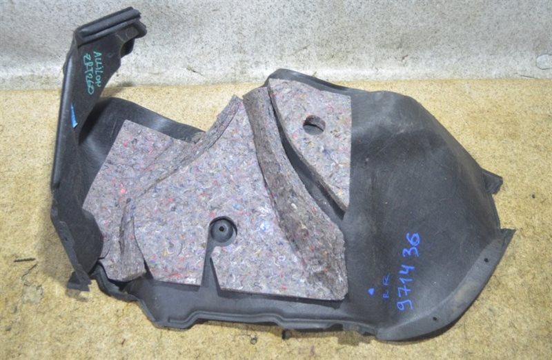 Обшивка багажника Toyota Allion ZRT260 задняя правая #971436