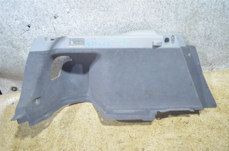 Обшивка багажника Toyota Prius NHW20 задняя левая #971469