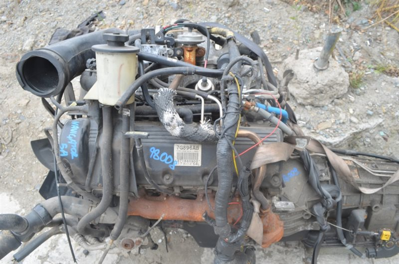 Двигатель Lincoln Navigator UN173 TRITON54L 1997 #98008