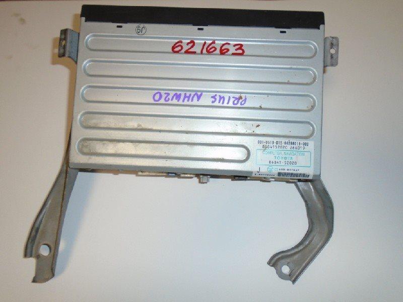 Блок навигации Toyota Prius NHW20 1NZ-FXE #621663