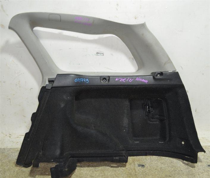 Обшивка багажника Toyota Corolla Fielder NZE121 задняя правая #611745