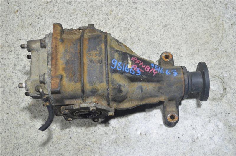 Редуктор Nissan Rasheen B14 GA15DE задний #981663