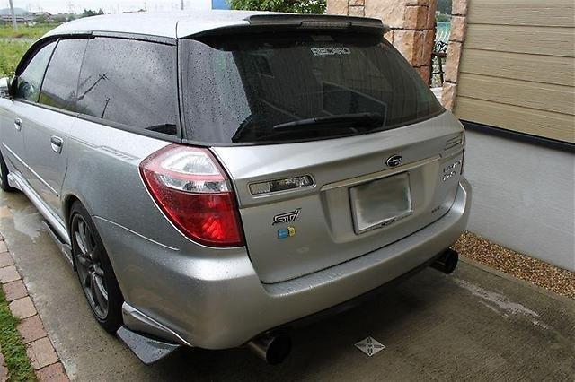 Спойлер Subaru Legacy BP5 задний