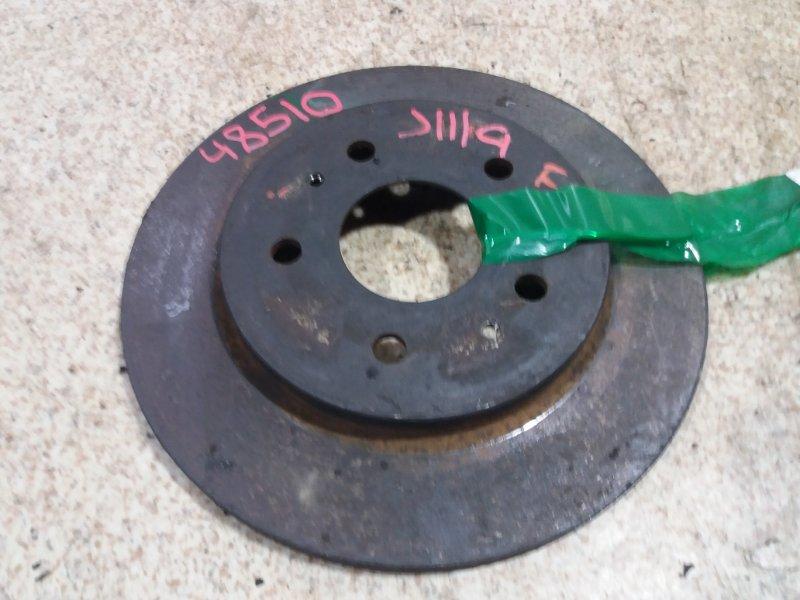 Тормозной диск Daihatsu Terios Kid J111G передний