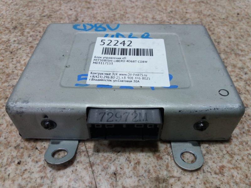 Блок управления efi Mitsubishi Libero CD8W 4D68T