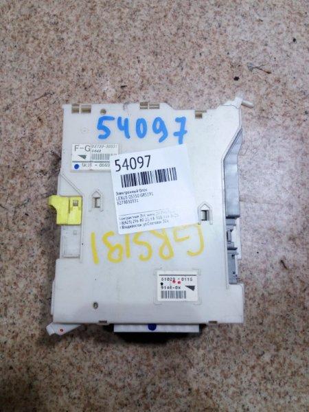 Электронный блок Lexus Gs350 GRS191