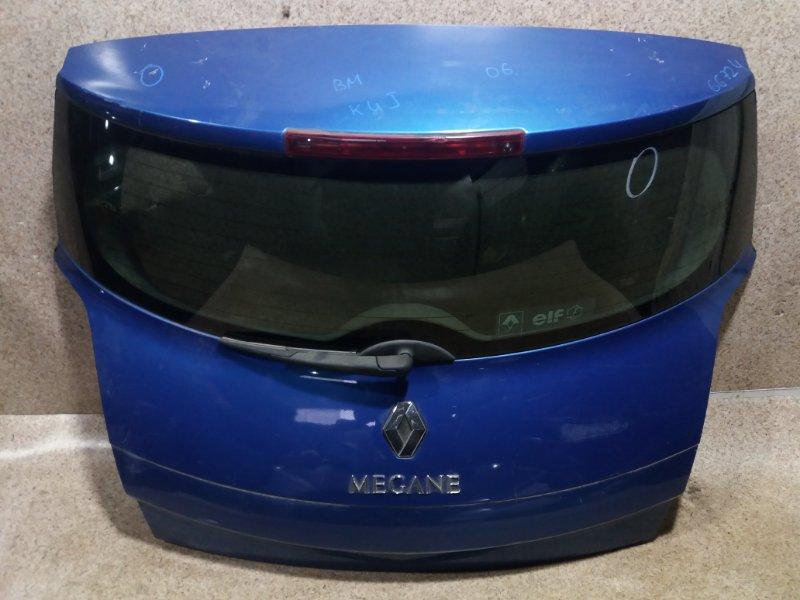 Дверь задняя Renault Megane BM K4J 2006 задняя