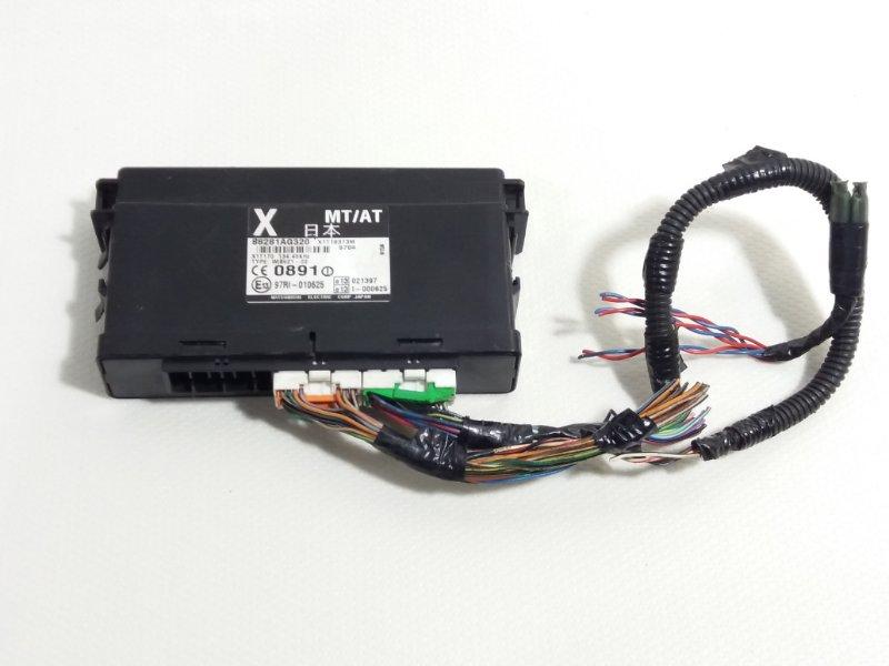 Блок переключения кпп Subaru Legacy BP5