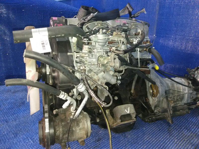 Двигатель Mitsubishi Delica P25V 4D56T 1991