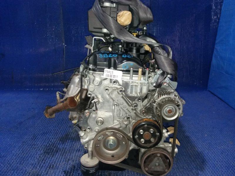Двигатель Nissan Dayz B21W 3B20 2015