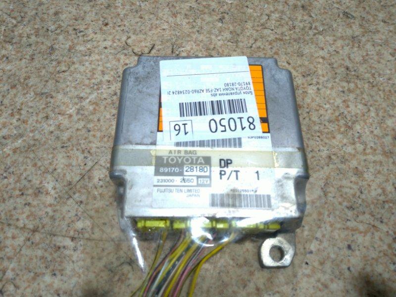 Блок управления abs Toyota Noah AZR60 1AZ-FSE 2003
