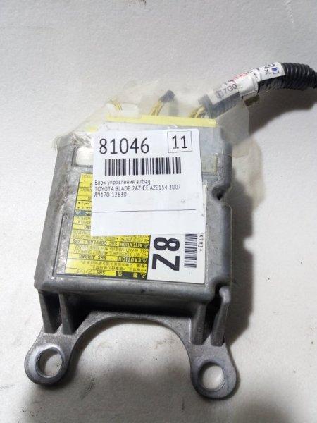 Блок управления airbag Toyota Blade AZE154 2AZ-FE 2007