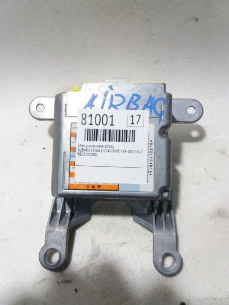 Блок управления airbag Subaru Exiga YA4 EJ204JUKME 2009