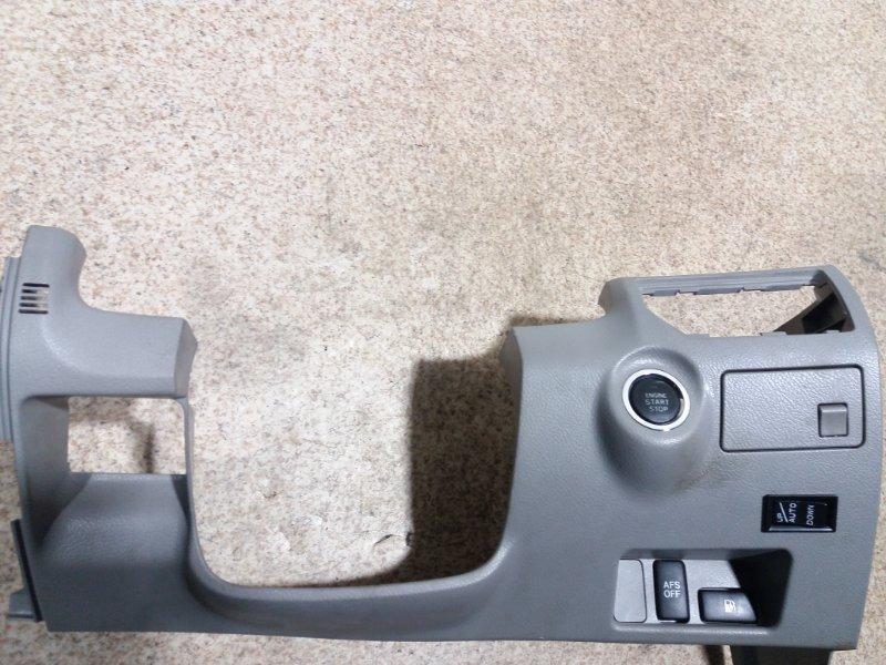 Консоль под рулевой колонкой Toyota Crown GRS184