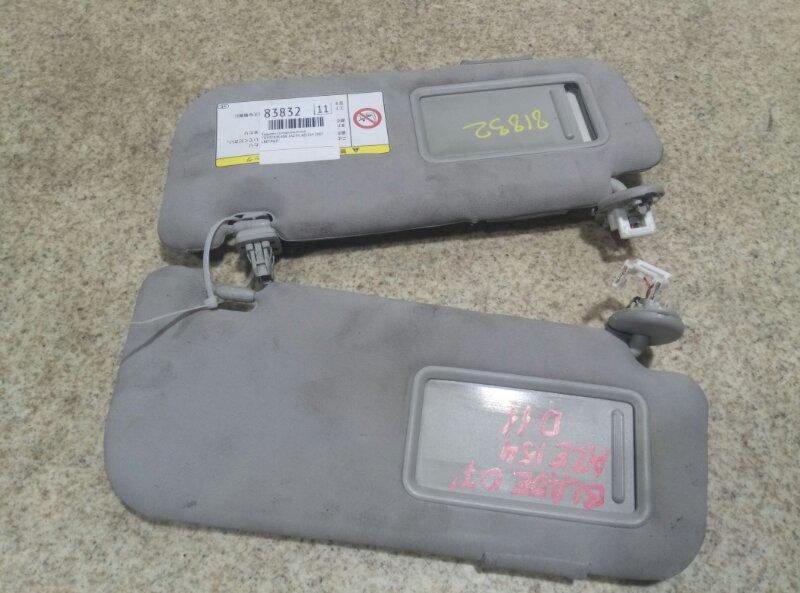 Козырек солнцезащитный Toyota Blade AZE154 2AZ-FE 2007