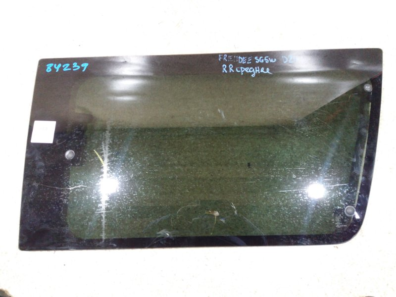 Стекло собачника Mazda Bongo Friendee SG5W J5 1997 заднее правое