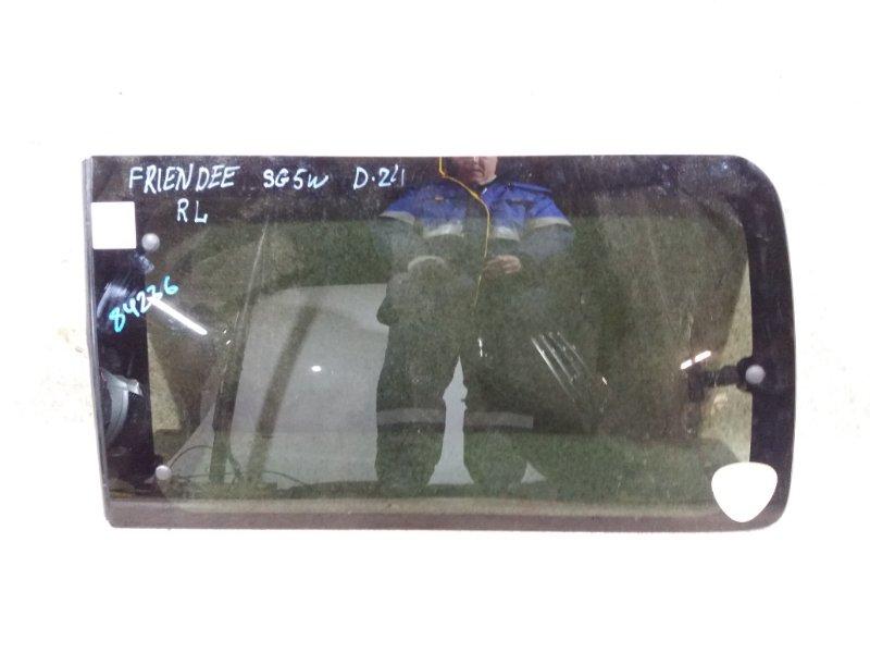 Стекло собачника Mazda Bongo Friendee SG5W J5 1997 заднее левое