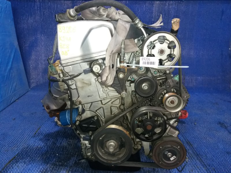 Двигатель Honda Edix BE8 K24A VTEC 2008
