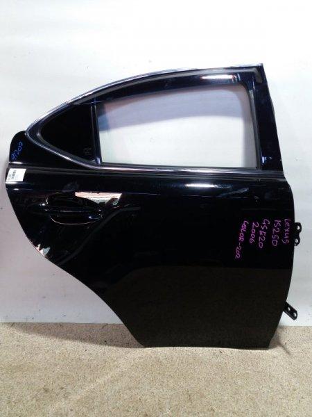 Дверь Lexus Is250 GSE20 4GR-FSE 08.2005 задняя правая