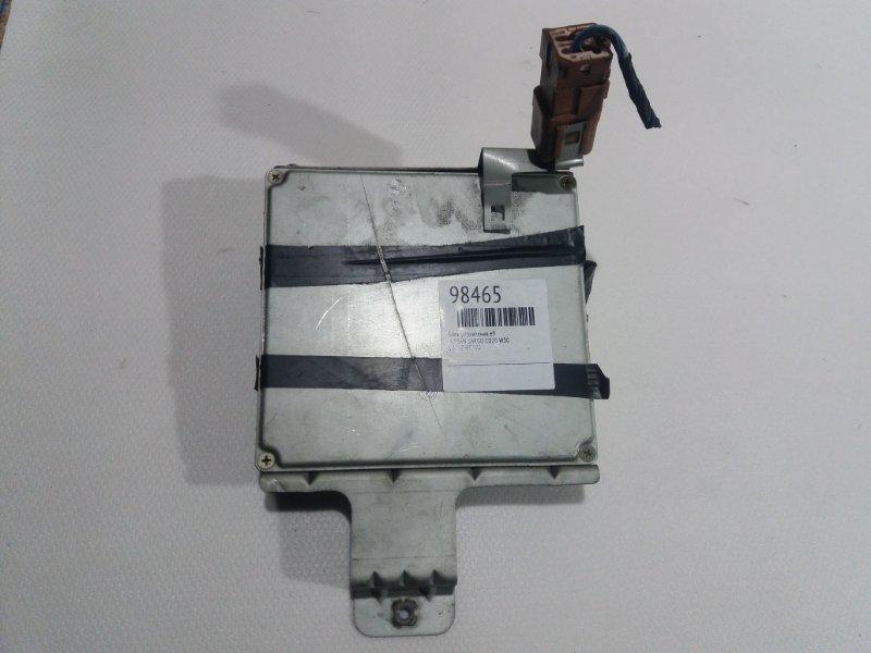 Блок управления efi Nissan Largo W30 CD20TI