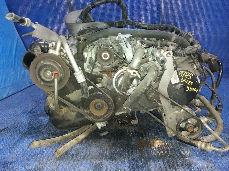 Двигатель Daihatsu Hijet S330V EF-DET