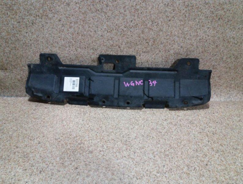 Защита бампера Nissan Stagea WC34 RB25DE передняя