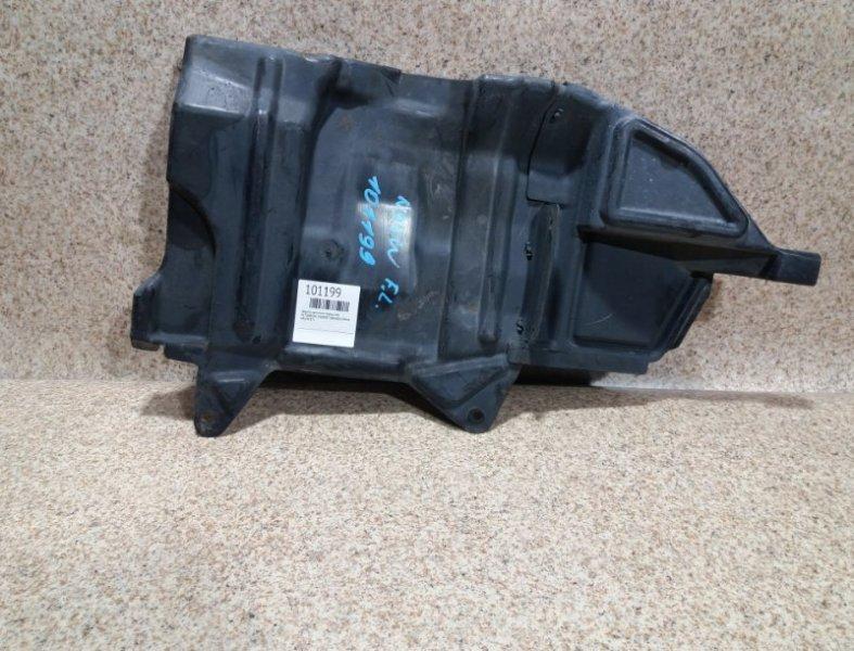 Защита двигателя Mitsubishi Chariot Grandis N94W передняя левая