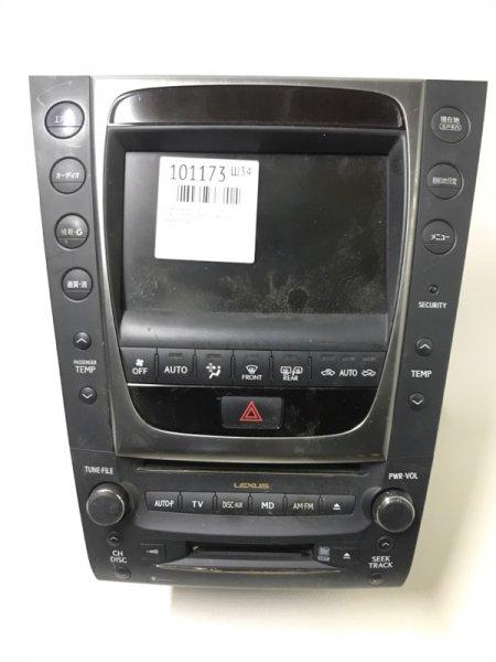 Климат контроль Lexus Gs350 GRS191 2GR-FSE 2007