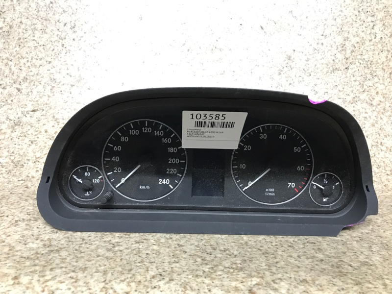 Спидометр Mercedes-Benz A-Class W169