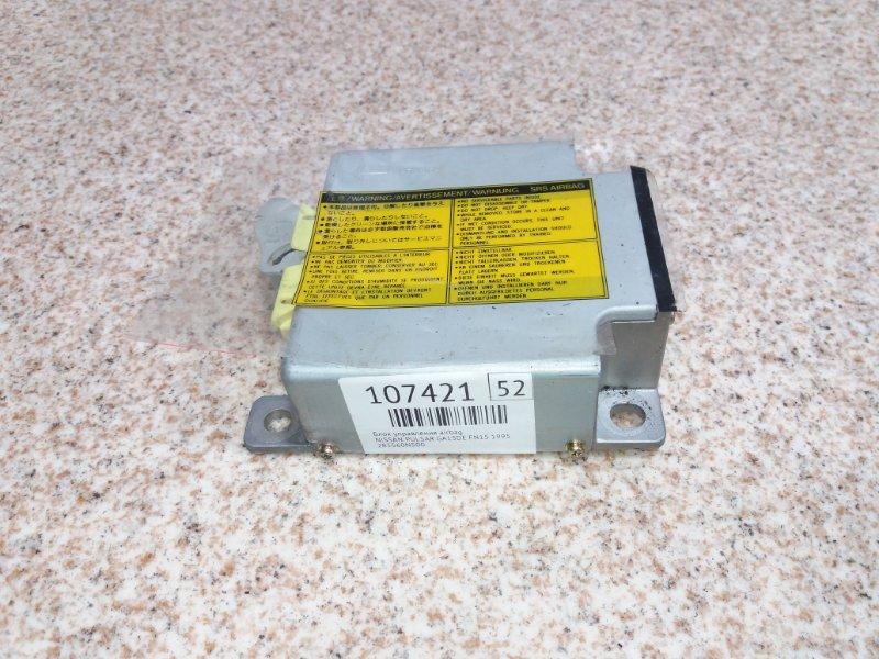 Блок управления airbag Nissan Pulsar N15 GA15DE 1995