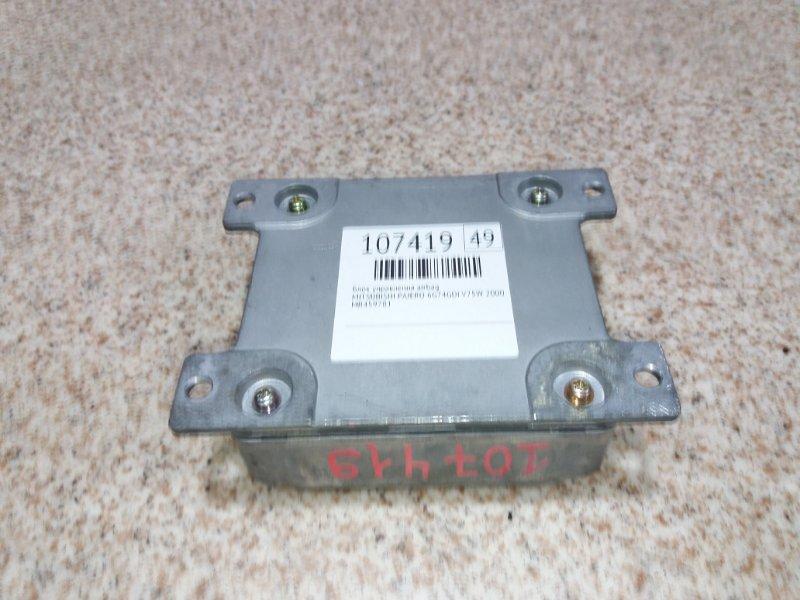 Блок управления airbag Mitsubishi Pajero V75W 6G74 2000