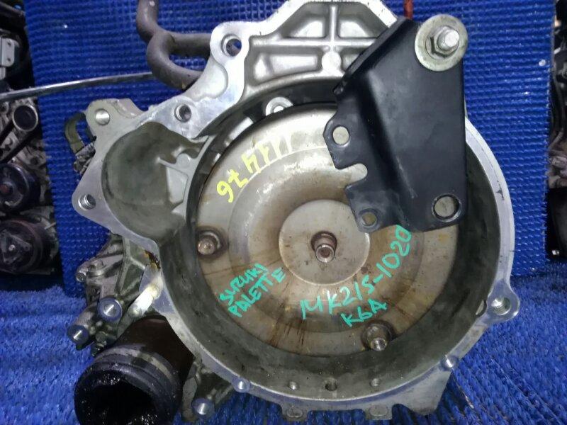 Акпп Suzuki Palette MK21S K6A