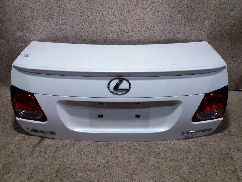 Крышка багажника Lexus Gs430 UZS190 3UZ-FE 2005 задняя