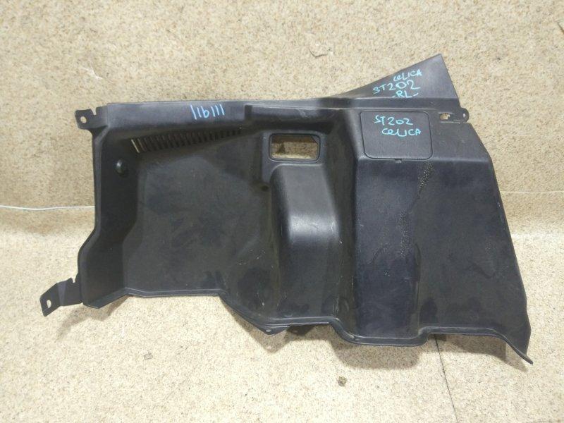 Обшивка багажника Toyota Celica ST202 задняя левая