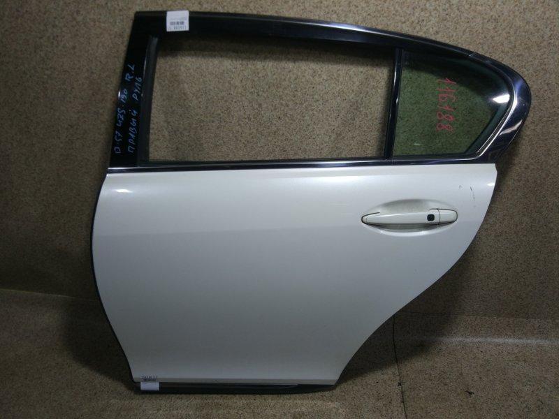 Дверь Lexus Gs430 UZS190 3UZ-FE 2005 задняя левая