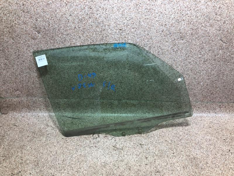 Стекло двери Mitsubishi Pajero V75W 6G74 2000 переднее правое