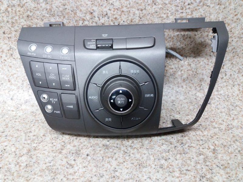 Блок управления магнитолой Honda Elysion RR1