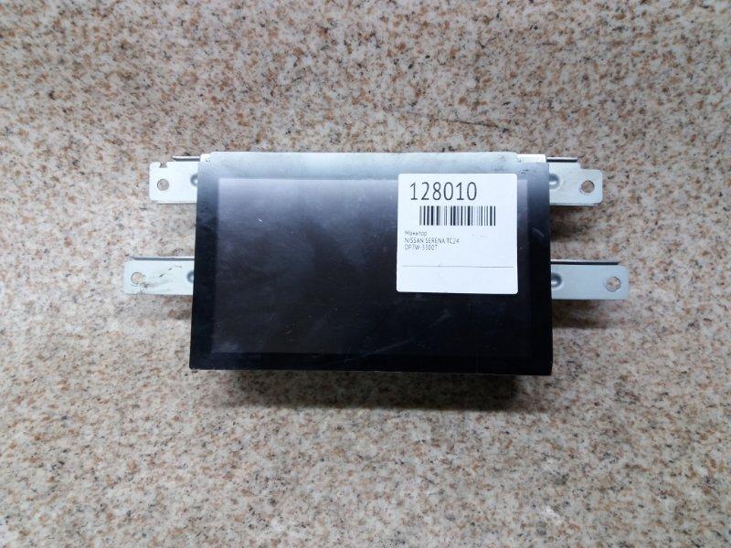 Монитор Nissan Serena C24 QR20DE