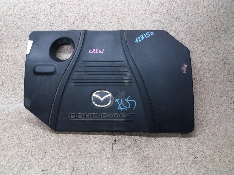Пластиковая крышка на двс Mazda Premacy CREW LF-DE