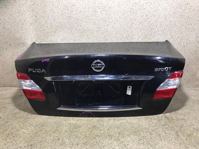 Крышка багажника Nissan Fuga Y51 VQ37VHR задняя