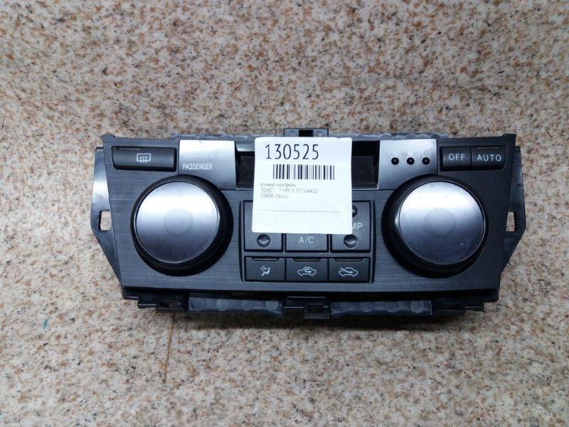 Климат контроль Toyota Mark X Zio ANA10
