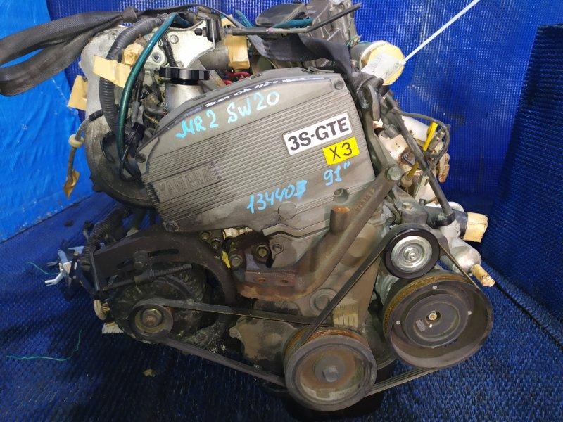 Двигатель Toyota Mr2 SW20 3S-GTE 1991
