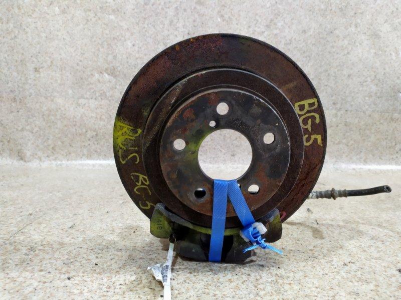 Тормозной диск Subaru Legacy BD5 задний левый