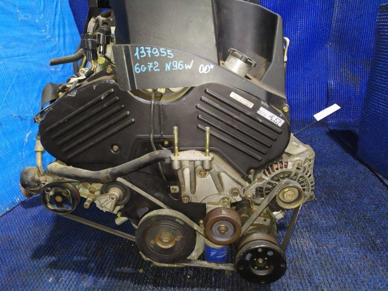 Двигатель Mitsubishi Chariot Grandis N96W 6G72 GDI 2000