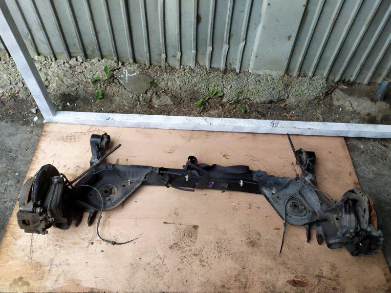 Балка со ступицами Nissan Serena C25 MR20DE задняя