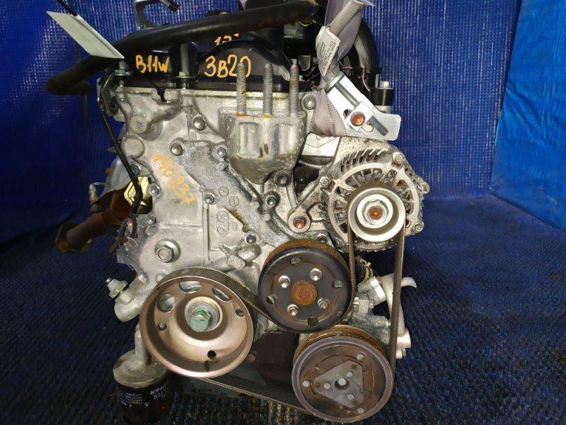 Двигатель Mitsubishi Ek Wagon B11W 3B20 2015