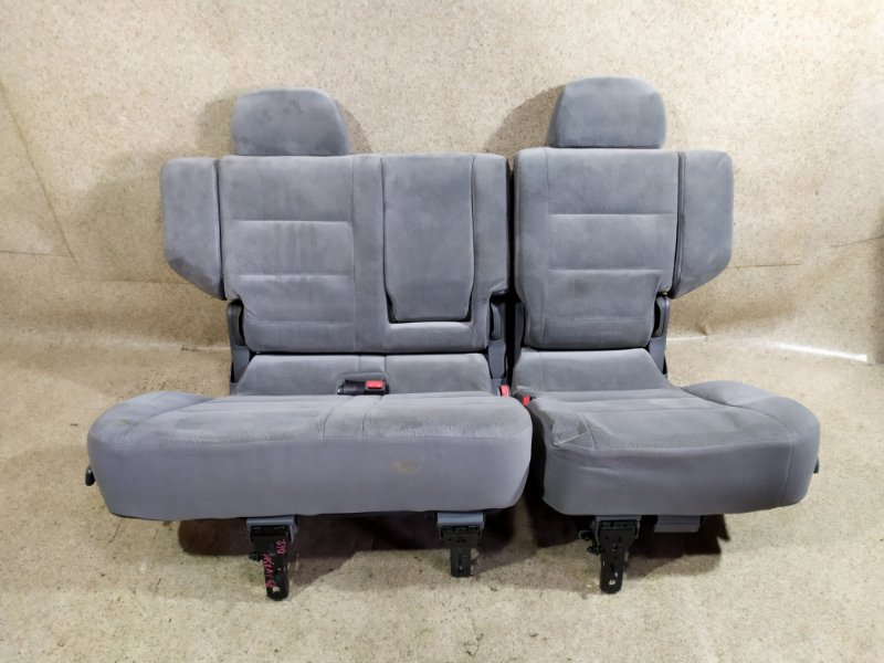 Сидение Mitsubishi Pajero V75W 6G74 2000 заднее