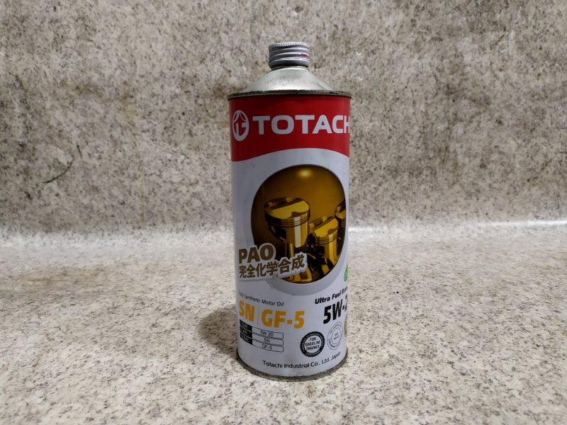 Масло Totachi Synthetic Sn 5W-20 1 #T004
