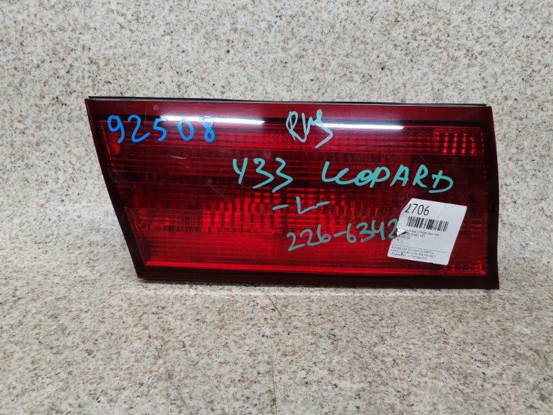Вставка между стопов Nissan Leopard Y33 VQ25DE задняя левая #92508